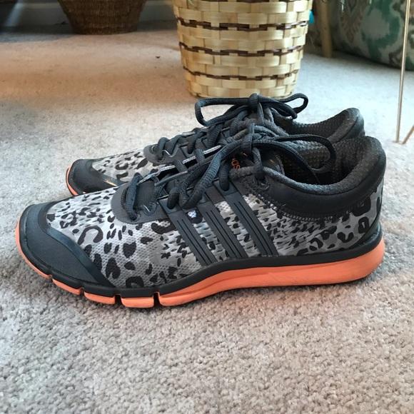 adidas leopard tennis shoes
